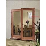 External French Door 6ft Hardwood Meranti La Porte Doorset XL